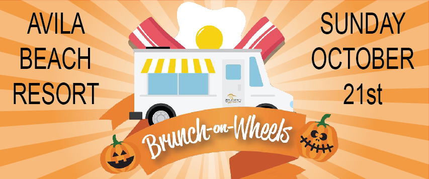 Flyer for Brunch-On-Wheels at Avila Beach